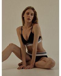 ULLALA PAJAMAS Aire Underwear Set - Black