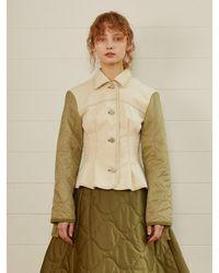 Fleamadonna Reformation Denim Jacket 2 Color - White