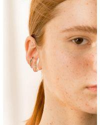 1064STUDIO Clear Ear Cuff Single - Multicolor