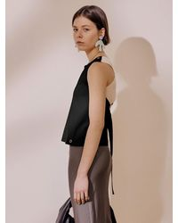 J.CHUNG Mare Backless Top - Black