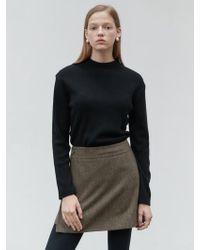 NILBY P - N Basic Knit Pullover Black - Lyst