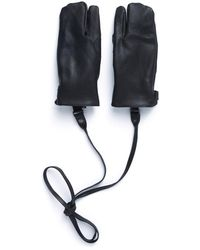 Eastlogue Rifle Leather Gloves - Black