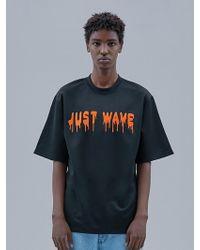 OWL91 - Just Wave T-shirts_black - Lyst