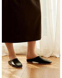MARONY CROSHET - Mc 005 Square Toe Mule Black - Lyst