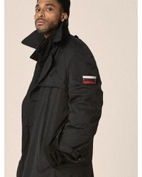 OVERR - 17fw Coating Black Trench Coat - Lyst