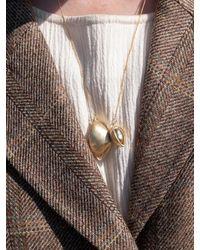 1064STUDIO Deep In Glassland 14 Necklace - Metallic