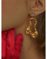 Yuul Yie Ouster Earring Gold White - Multicolor