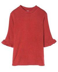 Grace Raiment - Ruffle Sleeve Knit - Lyst