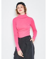 ANOTHER A - Basic Turtleneck Top 4colors - Lyst