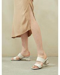 Intense Clothing Double Strap Sandal - Multicolour