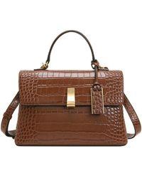 Joy Gryson Margo Classic Satchel Bag Lw0ab3810 - Brown