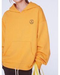 Baby Centaur Baby Stamp Logo Hoodie - Yellow