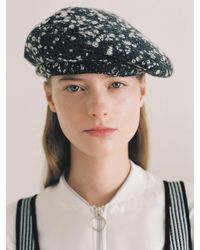 Awesome Needs Classic Beret Snow - Black