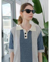 ENZO BLUES Marina Knit (ash / Blue)