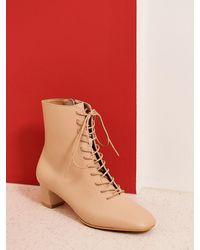 MARONY CROSHET - Mc 002 Lace Up Boots - Lyst