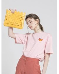 Atelier Park - Marrakesh Line Majorelle Clutch Yellow - Lyst