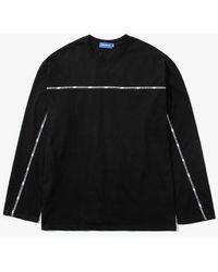 LAYER UNION Lu Tape Ls Tshirt - Black