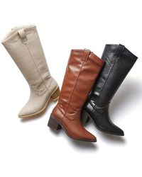 Intense Clothing Western Boots - Brown
