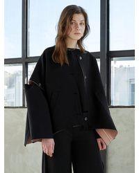 J.CHUNG Mond Button Coat (black)