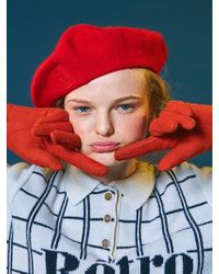 ANOTHER A - Anothera Retro Beret 5colos - Lyst
