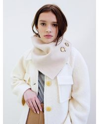 THE ASHLYNN Levy Reversible Wool Neck Warmer - Multicolour
