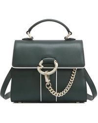 Lapalette Cannes Rosee Mini Satchel Bag - Green