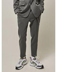 YAN13 New Premium House Slacks Grey
