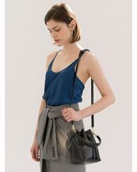 DEMERIEL - Bucket Bag Black Mini - Lyst