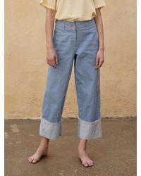 AEER Denim Trousers - Blue