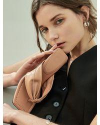 Intense Clothing Leather Toe Post Sandal - Multicolour