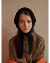 W Concept - Murs Knit Ear Muff 4color - Lyst