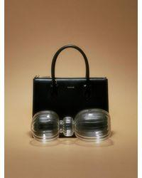 MUTEMUSE Magazine Bag Small (ink) - Black