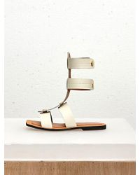 Low Classic - 17ss Button Point Gladiator Ivory - Lyst