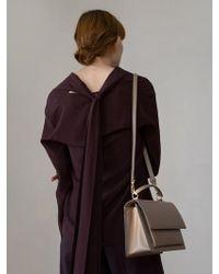 DEMERIEL - Multi-classic Bag Beige Medium - Lyst