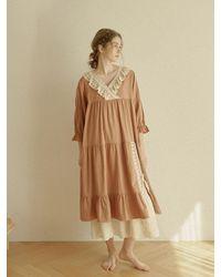 ULLALA PAJAMAS Rachel Capri Dress - Multicolour