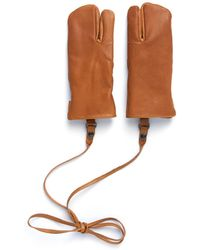 Eastlogue Rifle Leather Gloves - Brown