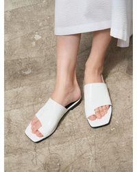 MARONY CROSHET 007 Cutout Flat Sandal (4color) - Multicolour