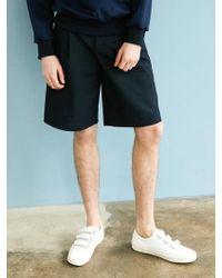 BONNIE&BLANCHE - Pocket Trouser Shorts Navy - Lyst