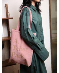Atelier Park - Easy Cotton Bag - Pink - Lyst