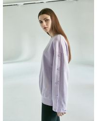 COLLABOTORY - Bbamb2014m Button Up Sleeve Sweatshirt 3color - Lyst