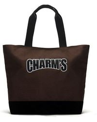 Charm's - Basic Totebag Brown - Lyst