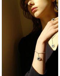 FLOWOOM - Orbit Bracelet White - Lyst