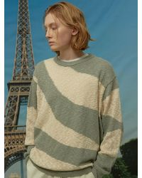 WAIKEI Wave Stripe Sweater - Multicolor