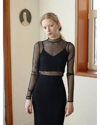 Baby Centaur Knit Long Skirt [] - Black