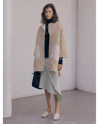 J.CHUNG Asymmetric Knit Skirt - Grey