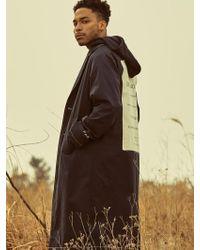 OVERR - Postcard Black Coat - Lyst