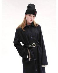 W Concept - [unisex]rc Corduroy Collar Coat - Lyst