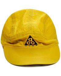 b99fa55450c Lyst - Nike Acg Aw84 Logo-appliquéd Printed Twill Baseball Cap in ...