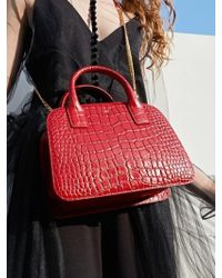 UNDER82 - Grace Tote Red - Lyst