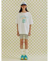 a.t.corner Great Chess Club Boyfriend T-shirts (white)